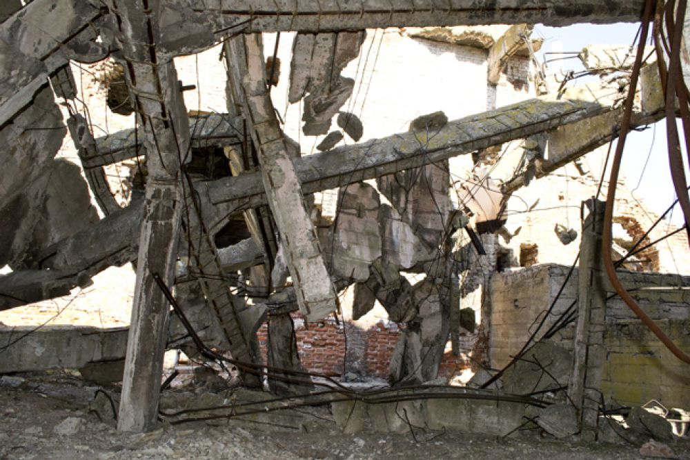 Один из планов сохранения мельницы Гергардта заключается в том, чтобы накрыть здание стеклянным колпаком.