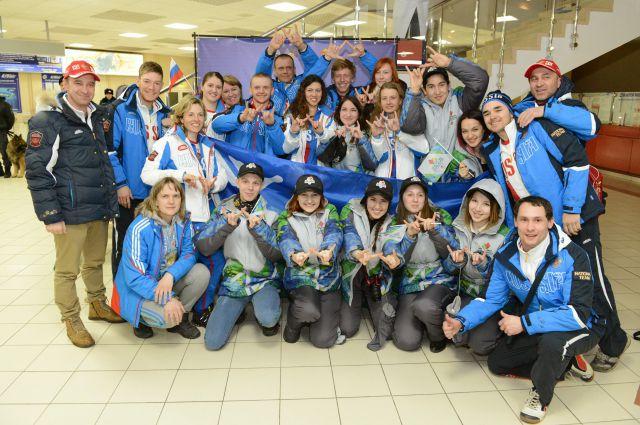 Сурлимпийская сборная России