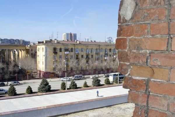 Мельница вместе с Домом Павлова и Заболотного стала узлом обороны.