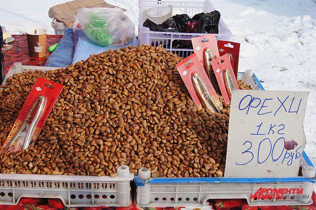 Орехи вдруг выросли в цене.