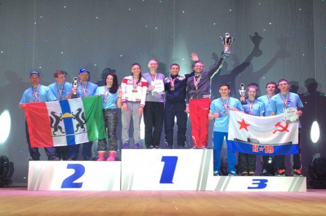 Новосибирцы заняли второе место на чемпионате России