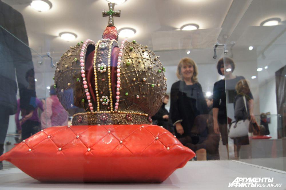 Николай Попов хочет, чтобы люди увидели в его работах не шоколад, который можно есть, а произведения искусства, которыми можно наслаждаться.