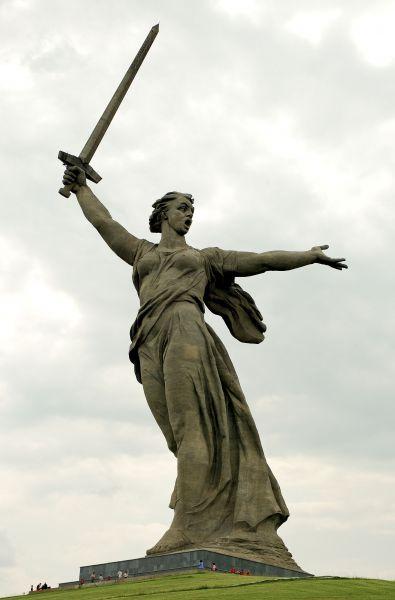 Статуя «Родина-мать зовет»