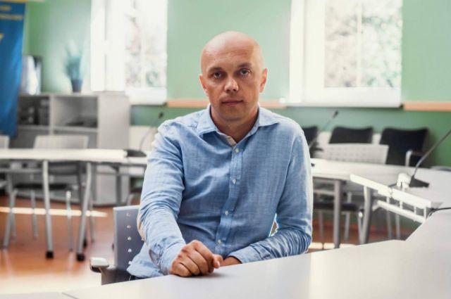 Глава Калининградской торгово-промышленной палаты Алексей Зиновьев.