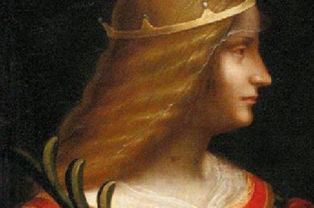 Леонардо да Винчи «Портрет Изабеллы д'Эсте».