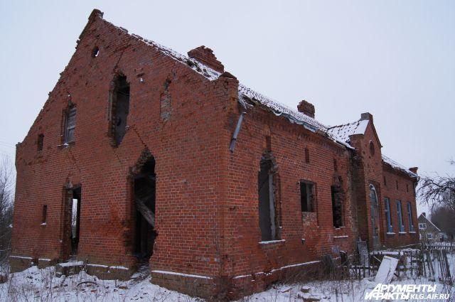 В таком состоянии дом, где жил, работая учителем, Иммануил Кант, простоял долгие годы.
