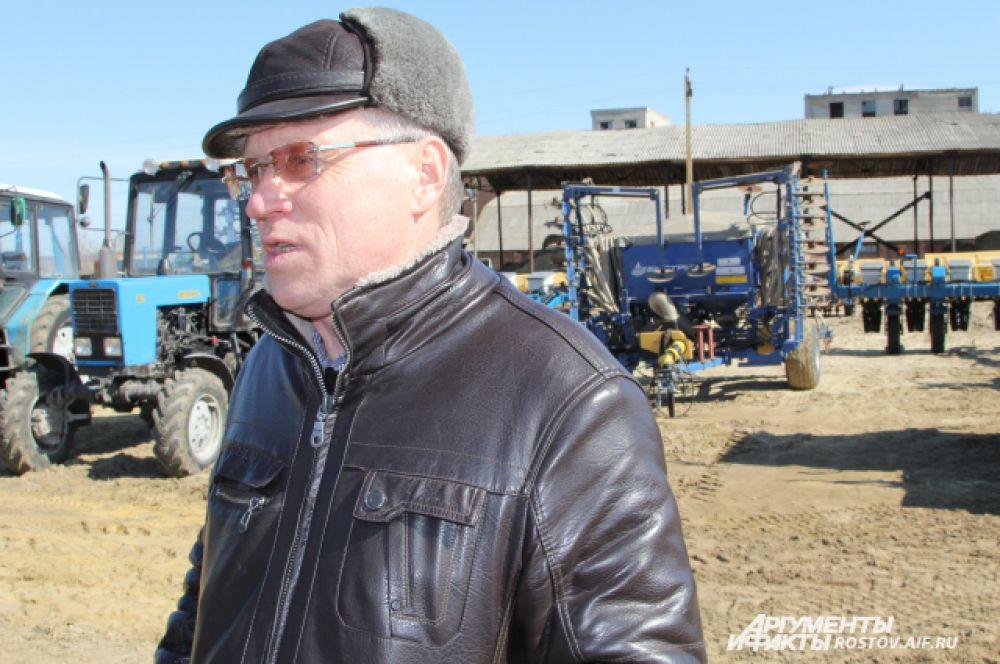 Главный инженер предприятия Чеботарёв Владимир Иванович считает, что в нынешнем году можно ждать хорошего урожая.