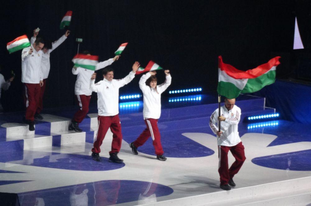 Сборная Венгрии.