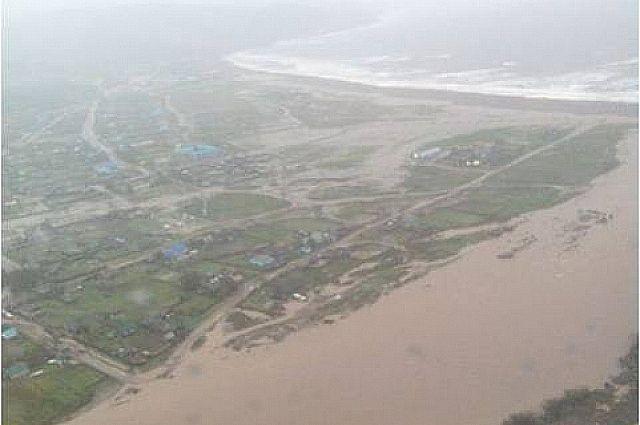 В 2014 году вышедшая из берегов река Амгу подтопила десятки домов.
