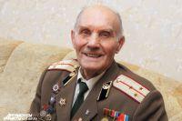 Ветеран Виктор Шабров.
