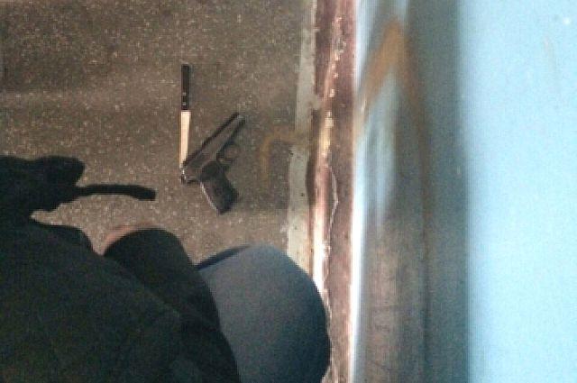 Оружие, найденное у Беспалова.