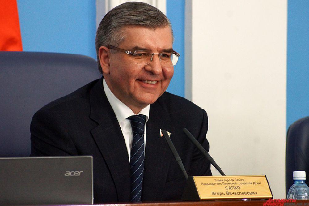 Мэр Перми Игорь Сапко.