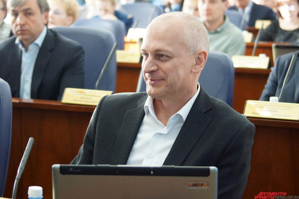 Депутат Пермской городской думы Михаил Черепанов.