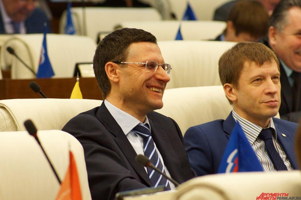 Депутат Законодательного собрания Пермского края Александр Бойченко.
