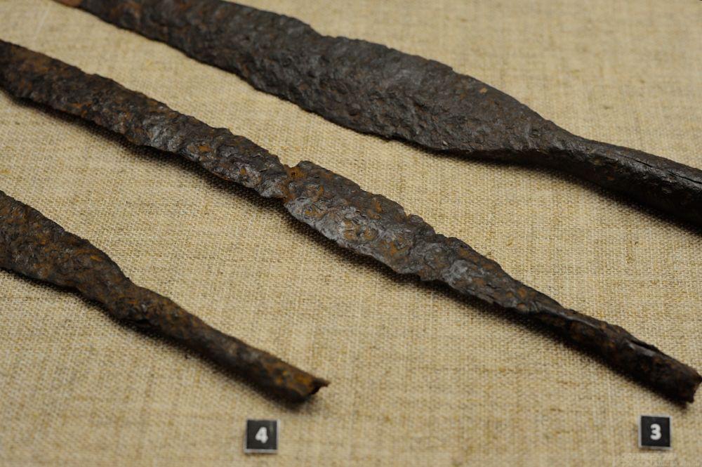 Железные наконечники дротиков. IV-III вв. до н.э. «Курган Красноармейский 3».