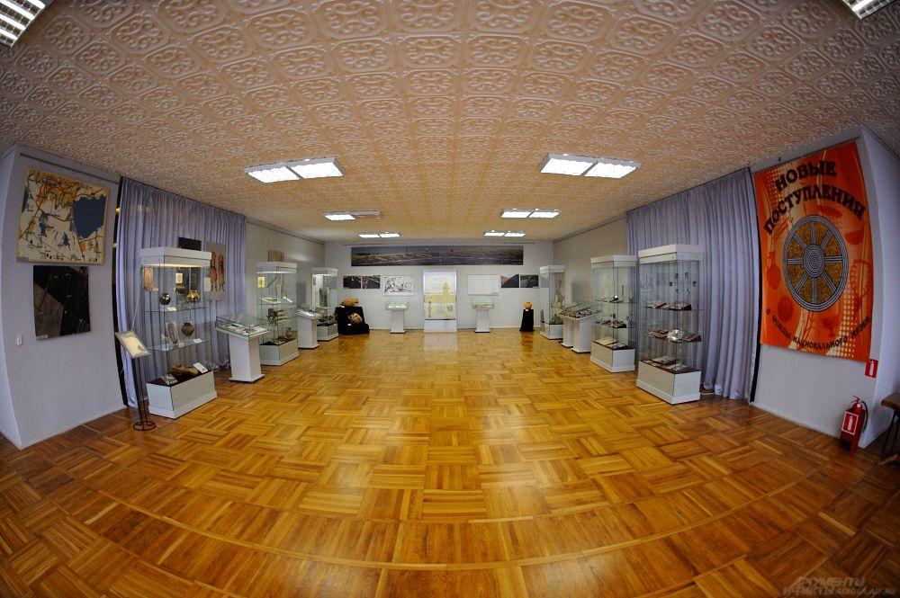 Экспозиция Национального музея РА.