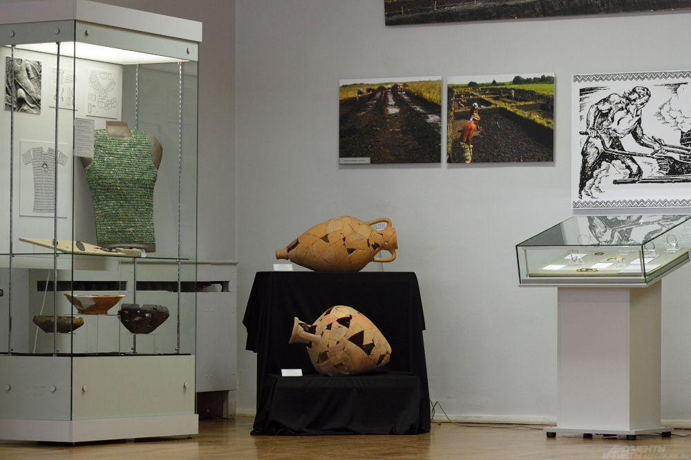 Экспонаты Национального музея РА.
