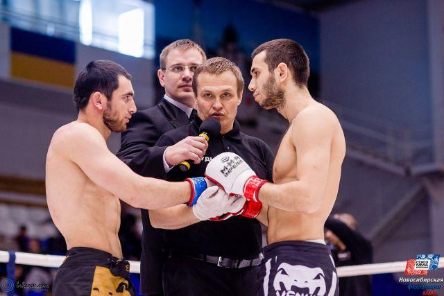 В Бердске завершился чемпионат по ММА