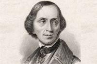 Ганс Христиан Андерсен. Фото не позднее 1850-ых.