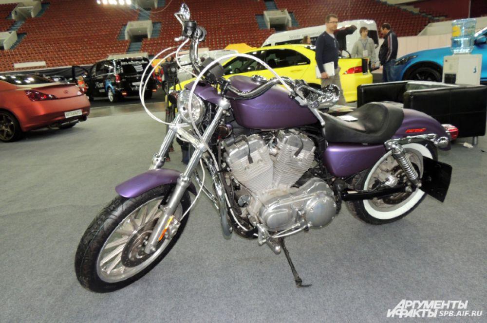 На выставке можно увидеть квадро- и мотоциклы