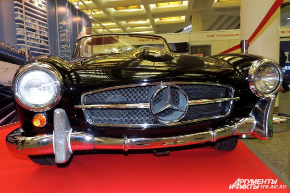 Mercedes - постоянный участник автовыставок