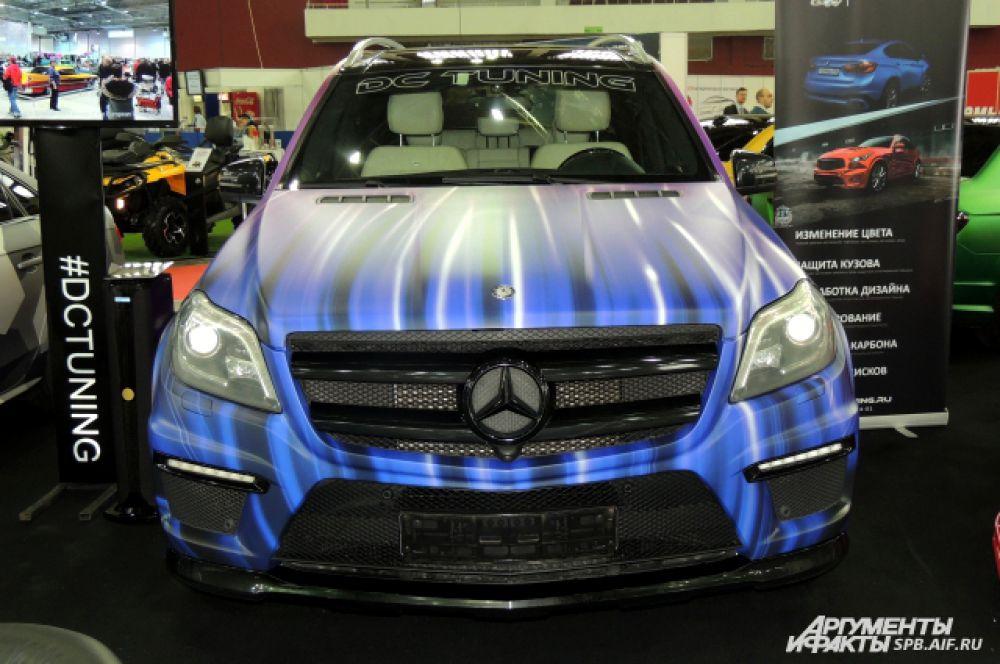 Этот Mercedes прошел тюнинг высокого класса