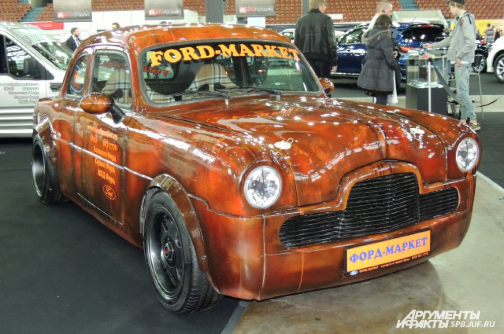 Окраска Ford делает его похожим на мультипликационный объект