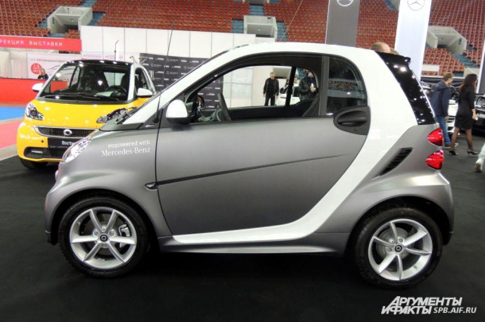 Smart Fortwo - редкий автомобиль, выпущенный в ограниченном количестве