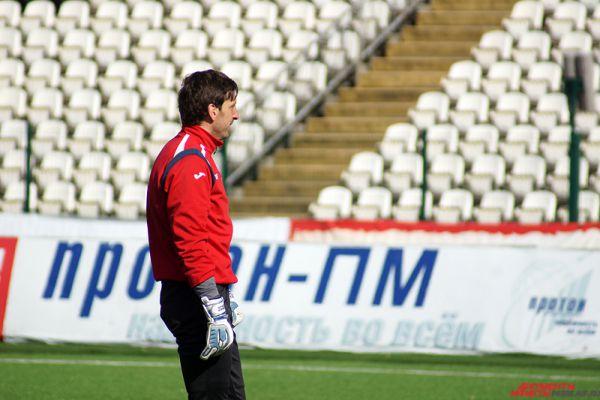 Основной вратарь команды Роман Герус.