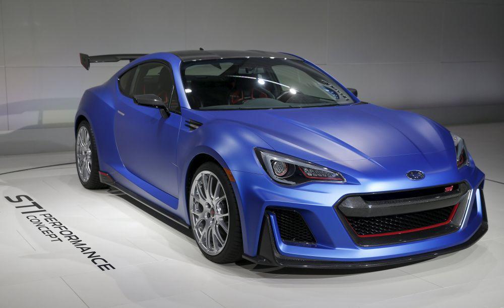 Subaru представила новую модель Subaru BRZ – Subaru STI Performance Concept. Автомобиль получил измененные бампера и решетку радиатора.