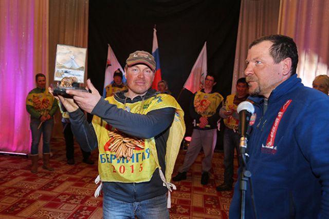 Андрей Семашкин получает приз Самарского уже шестой раз.