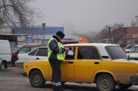 В Омске провели проверку такси.