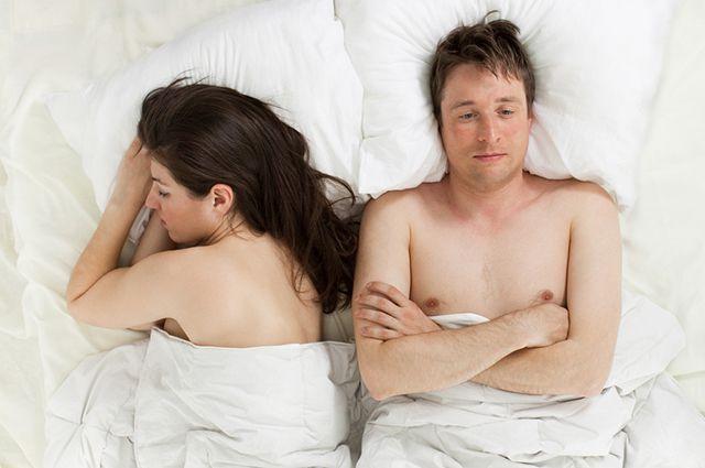 Волнение может стать причиной неудачи в сексе
