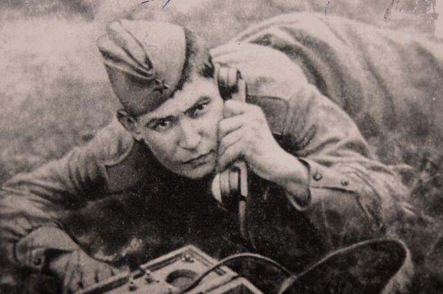Ветеран Александр Тулинцев.
