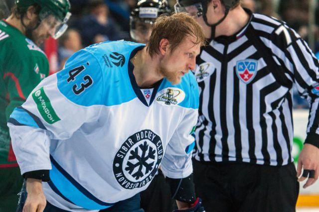 Хоккейная «Сибирь» закончила выступать в Чемпионате КХЛ