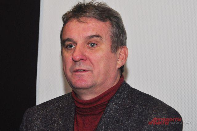 Александр Мельник приехал в Омск на предпремьерный показ своего фильма.