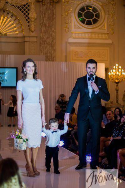 Григорий Решетник с супругой и сыном