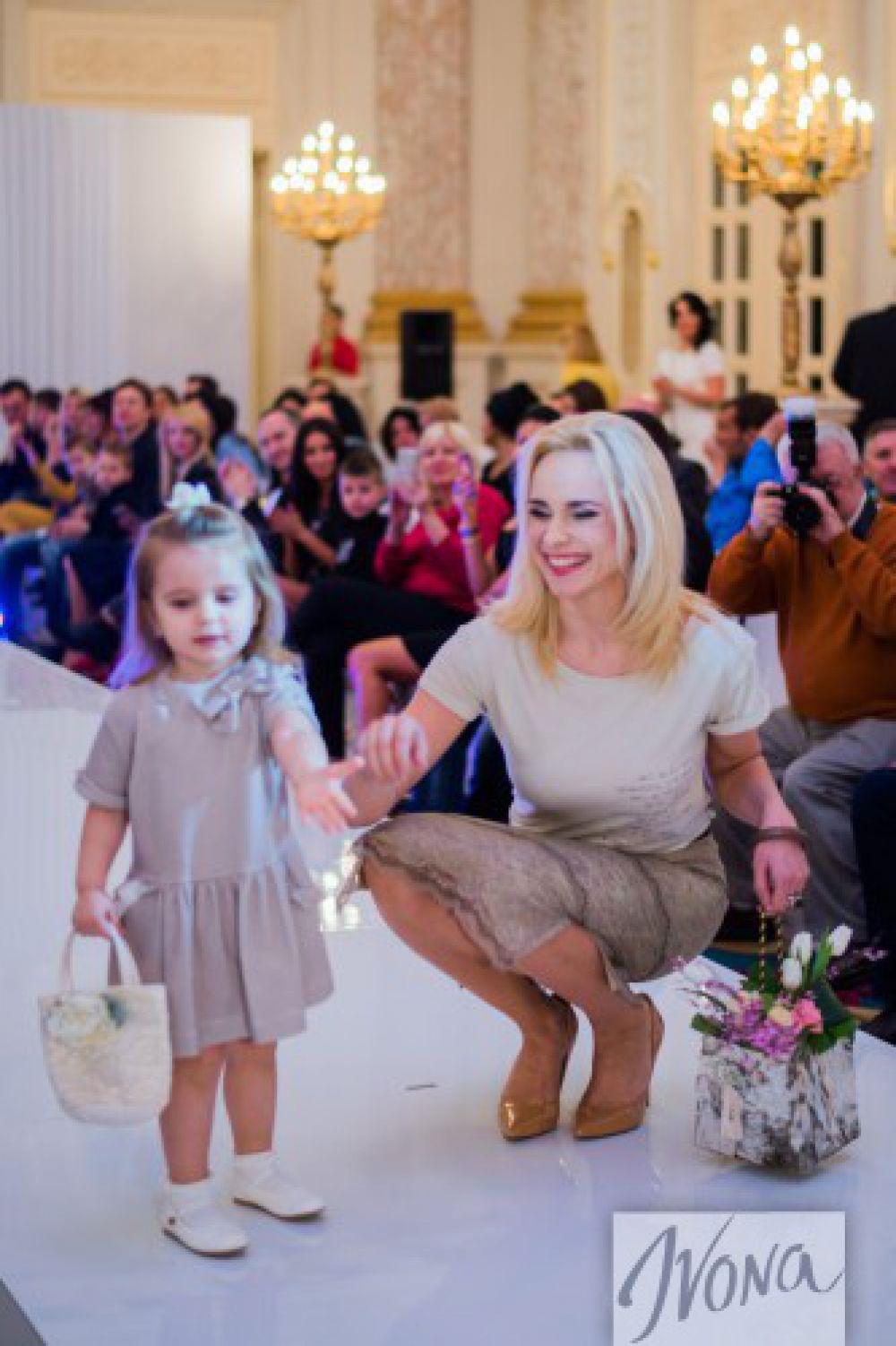 Лилия Ребрик с дочкой