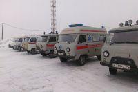 Рыбаков БАТМ «Дальний Восток» в Магадане встречало несколько машин скорой медицинской помощи.