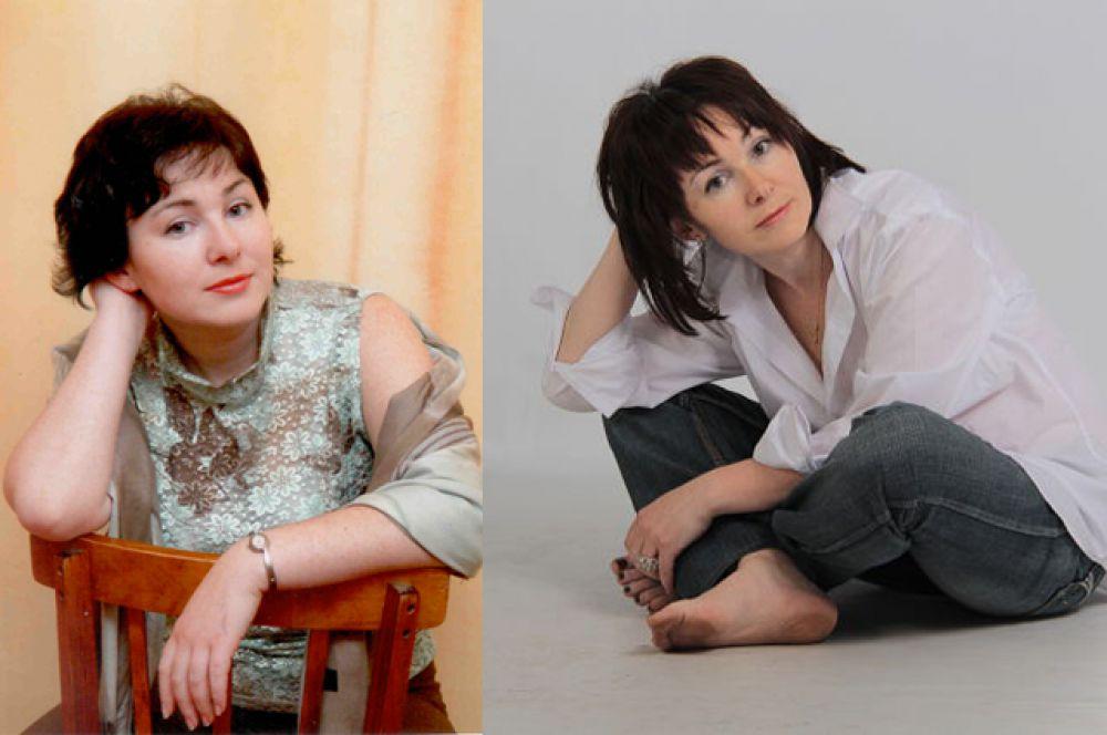 Участинца №3. Оксана Белокрылова в 25 и 40 лет. «Я живу в Иркутске, воспитываю дочь Полину шести лет. Очень рада поучаствовать в таком конкурсе, ведь глядя на наших женщин, никогда не скажешь – «уже за 40...», такие они прекрасные и молодые, глаз просто радуется!»
