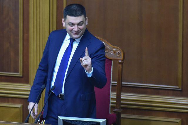 Владимир Гройсман, спикер Рады