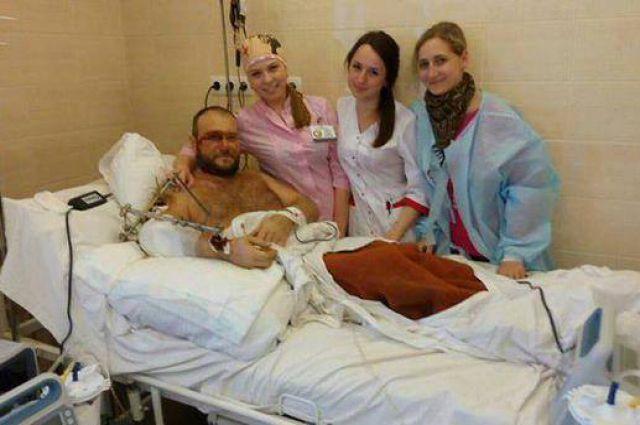 Ярош в больнице