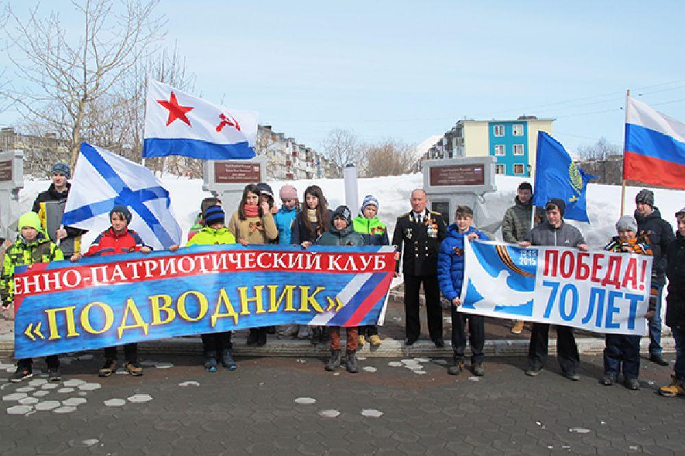 Аллея Славы в Петропавловске.