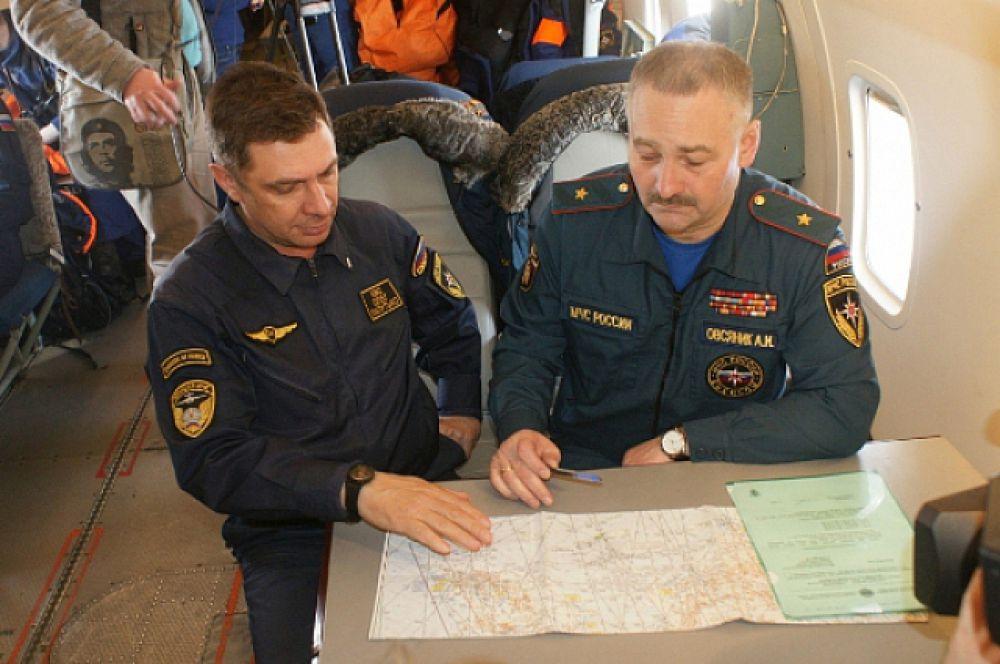Спасатели разрабатывают план поиска рыбаков, пропавших без вести.