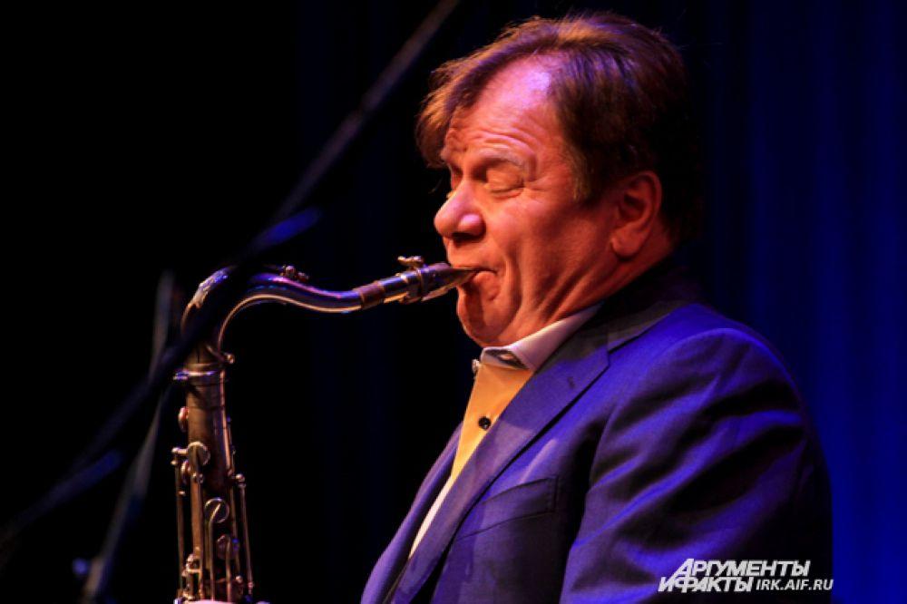 Игорь Бутман на пресс-конференции заявил, что намерен поддерживать фестиваль «Джаз на Байкале».