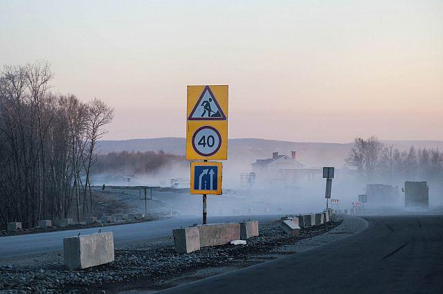 В Омской области займутся ремонтом федеральных трасс.