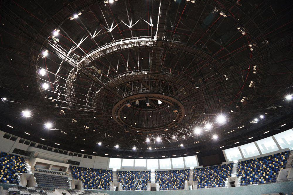 Борьба – Арена Гейдара Алиева. Соревнования по самому популярному виду спортивного единоборства в Азербайджане –борьбе - станут наиболее значимым моментом Европейских Игр и пройдут на Арене Гейдара Алиева, вмещающей 7800 человек.