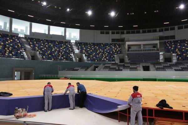 Во время соревнований по вольной и греко-римской борьбе 480 спортсменов смогут побороться за звание чемпиона Европы перед широкой аудиторией.