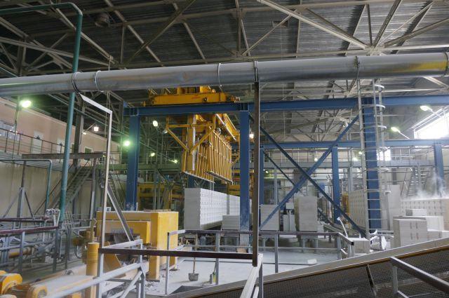 В ближайший год на предприятии станут выпускать до 300 тыс. куб. м газобетона