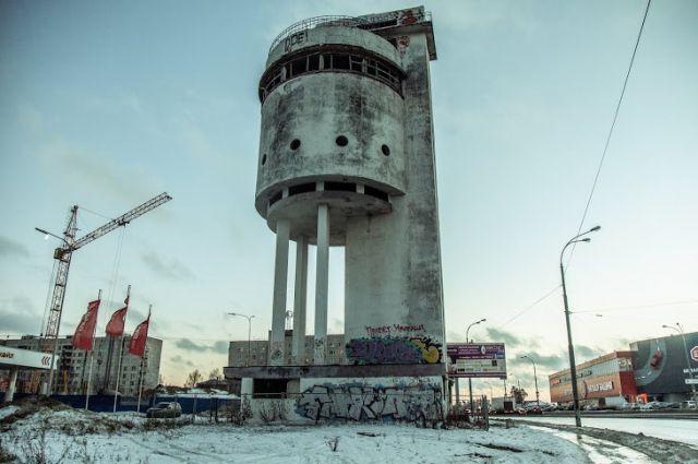 Белая башня Екатеринбурга станет одним из объектов фестиваля «Стенограффия»
